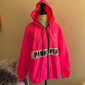 Pink by Victoria's Secret windbreaker